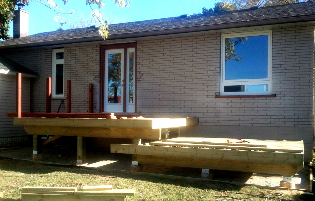 deck building Cookstown