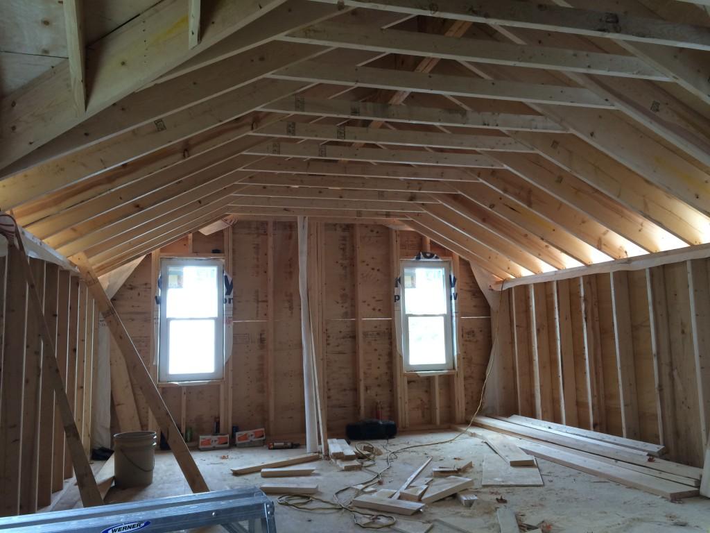 second floor addition inside