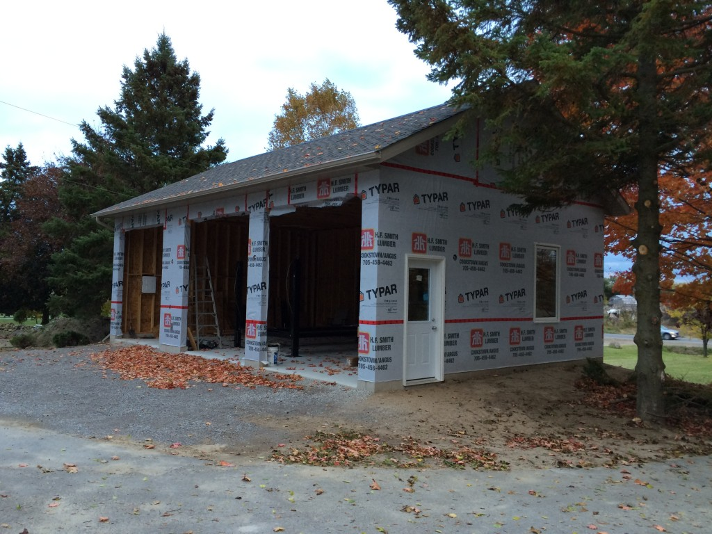 Garage framing Cookstown Innisfil